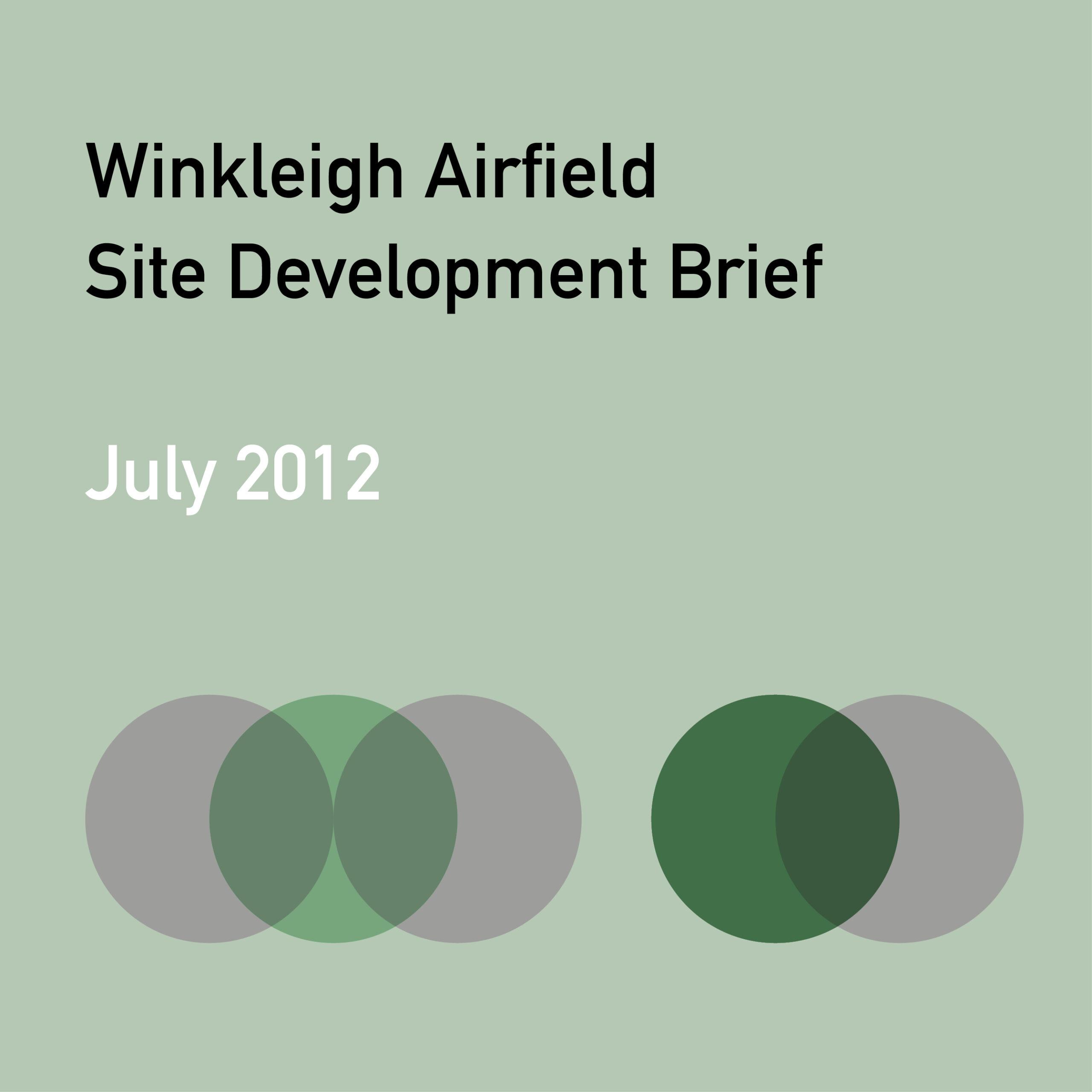Winkleigh Airfield Site Development Brief